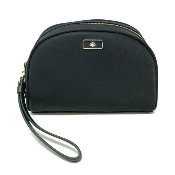 newest 298b2 74f5e Kate Spade Dawn Medium Dome Cosmetic Make Up Bag Boutique